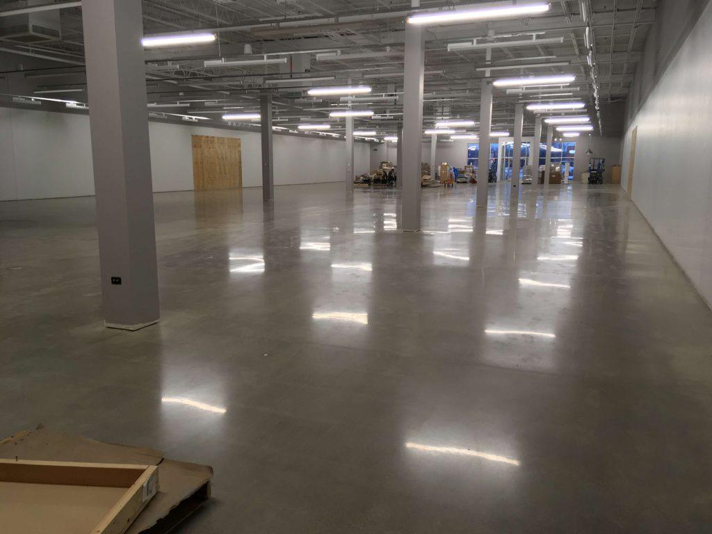 Polished Concrete Flooring