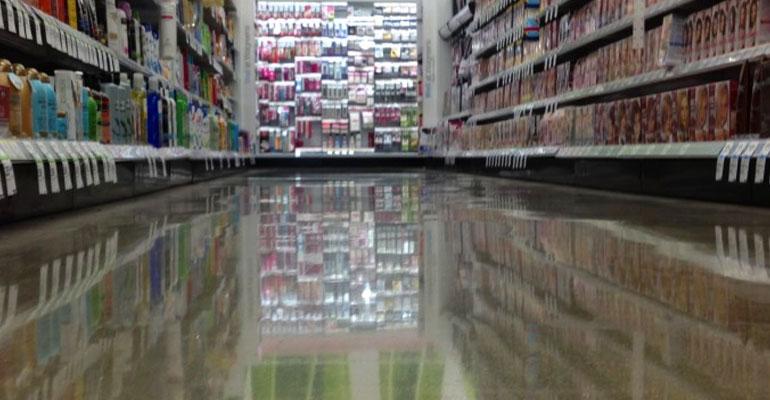 Store Concrete Floor
