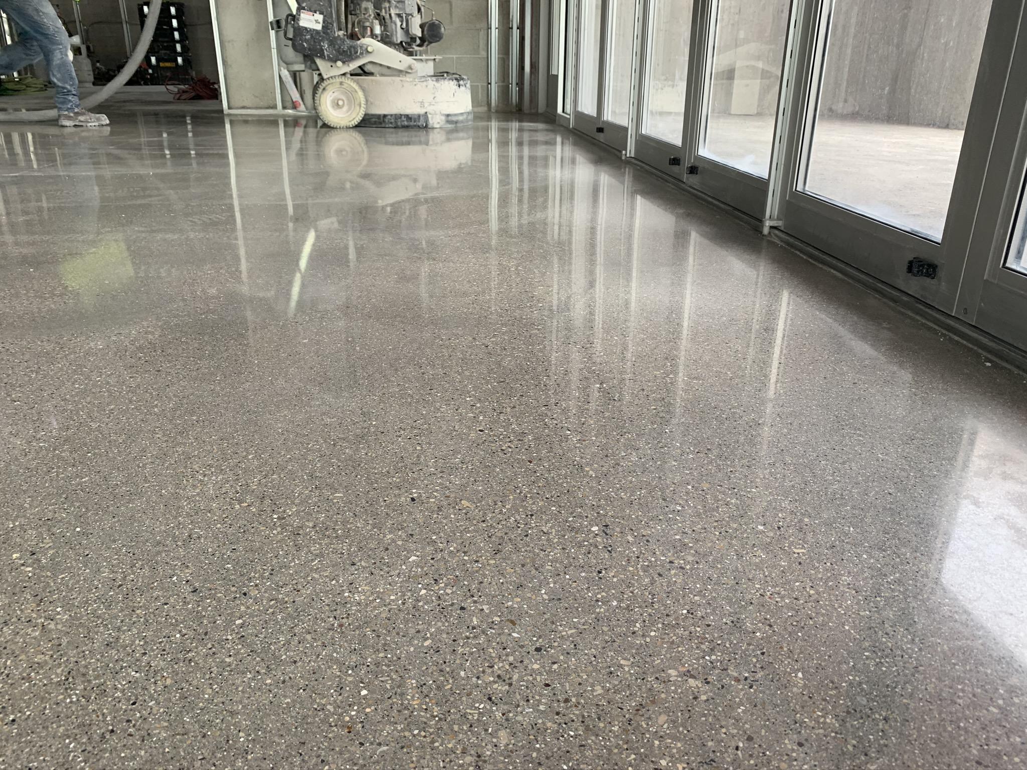 Concrete Polishing Installation
