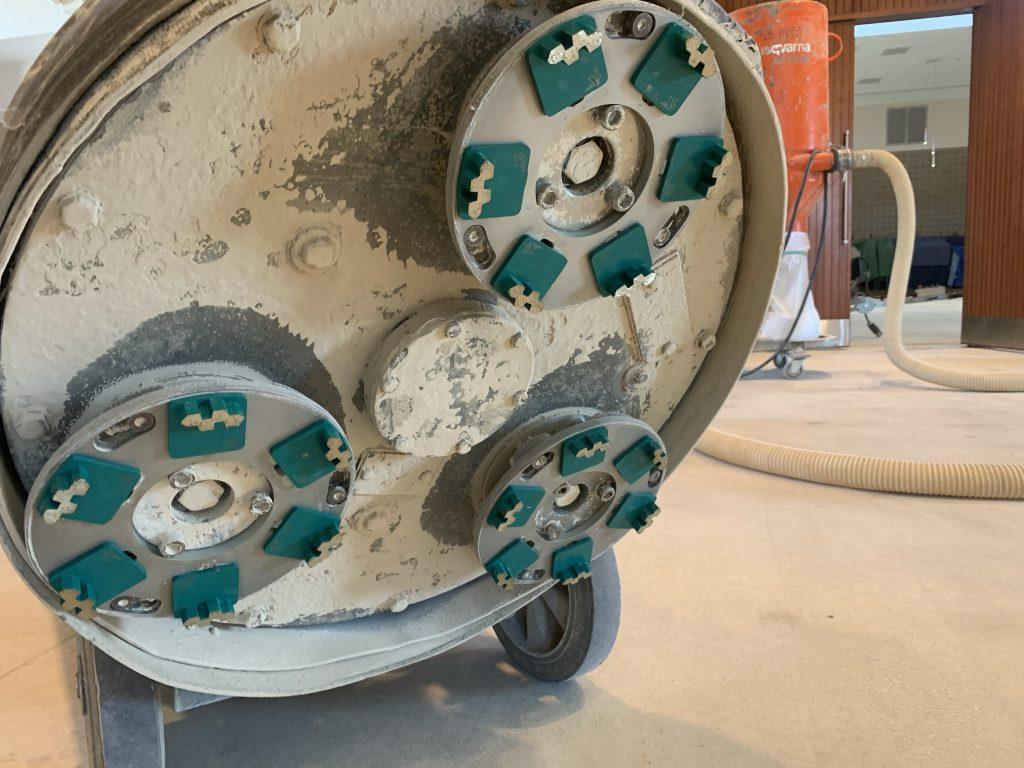 Husqvarna Concrete Polishing Equipment