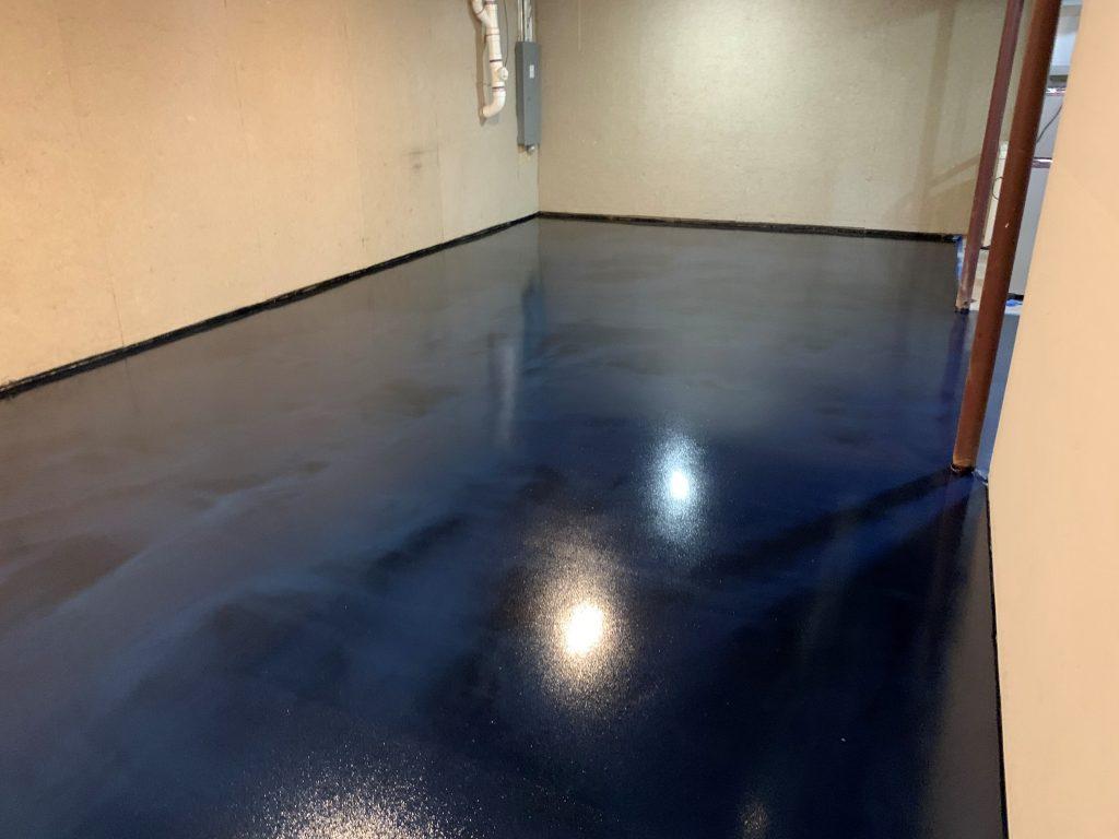 Decorative Metallic Epoxy Flooring