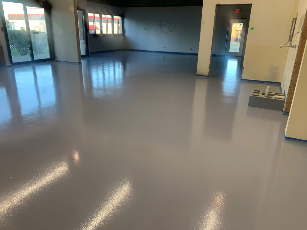 Smooth Finish Epoxy Flooring