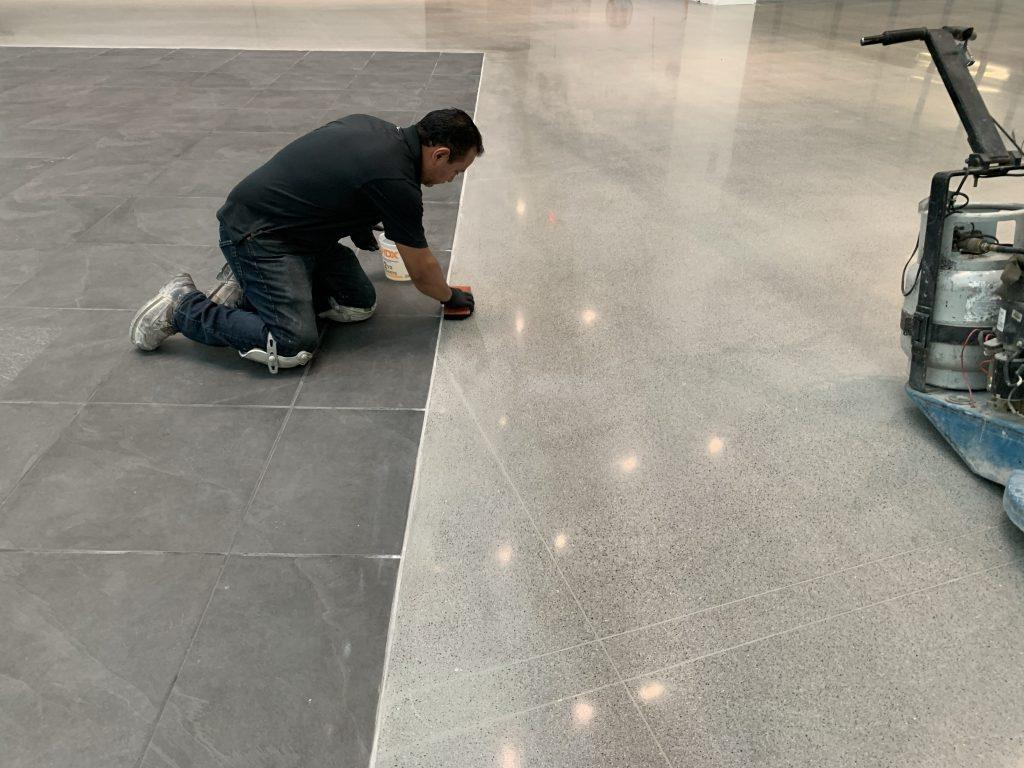 Detailing Concrete Polishing Edgework