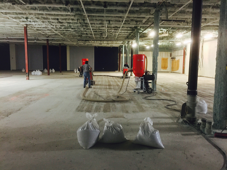 Prepping Concrete Surface