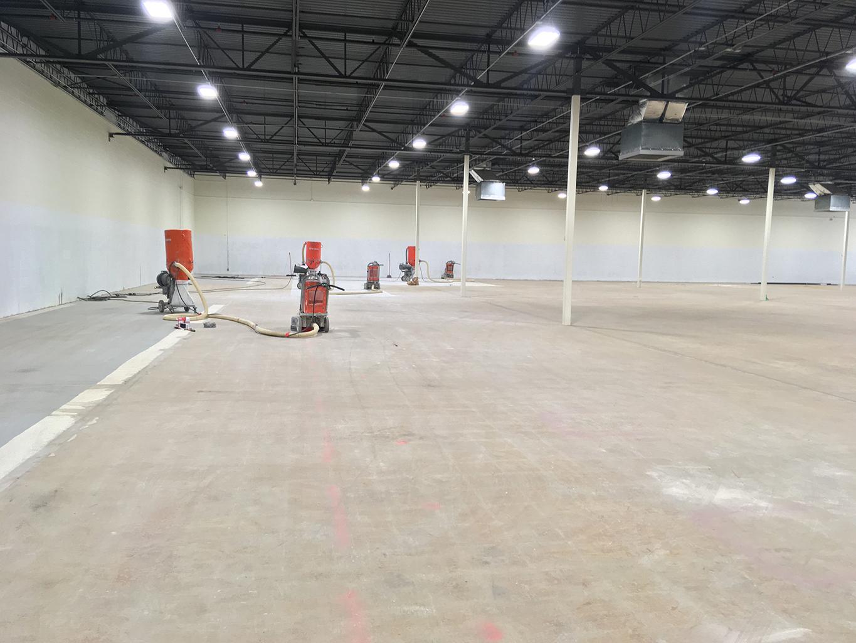 Grinding Commercial Floor