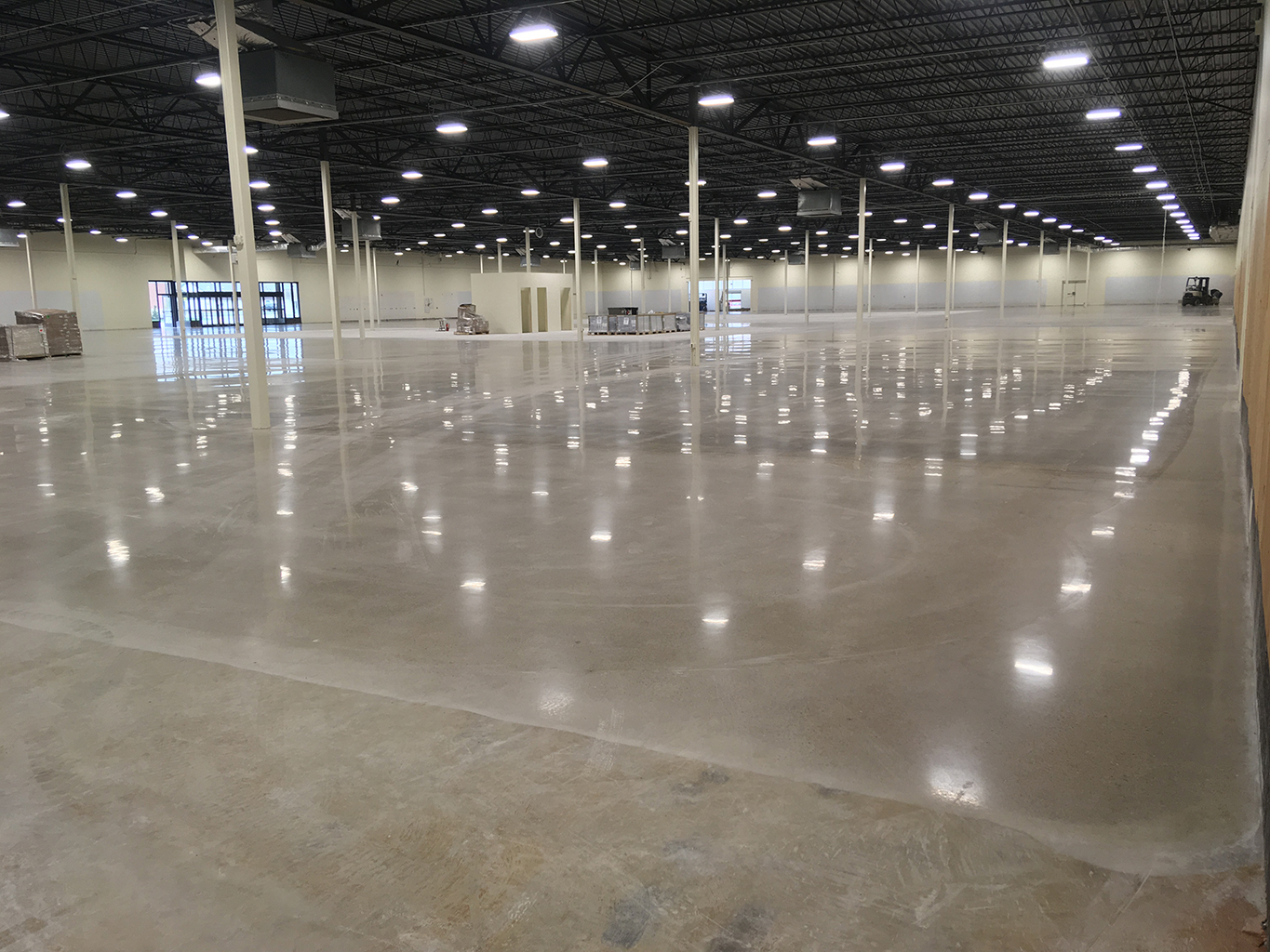Polishing Commercial Floor