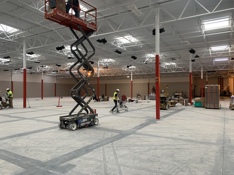 Prepping Commercial Floor
