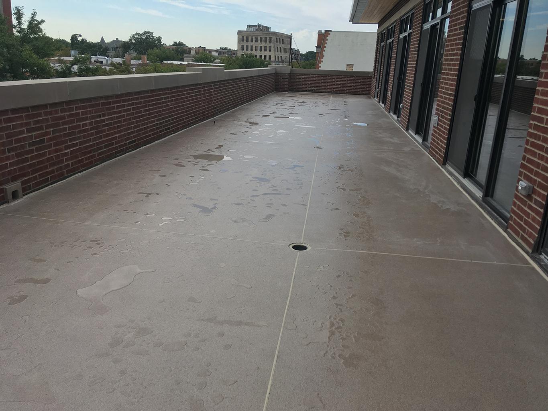 Coated Outdoor Floor After Rain