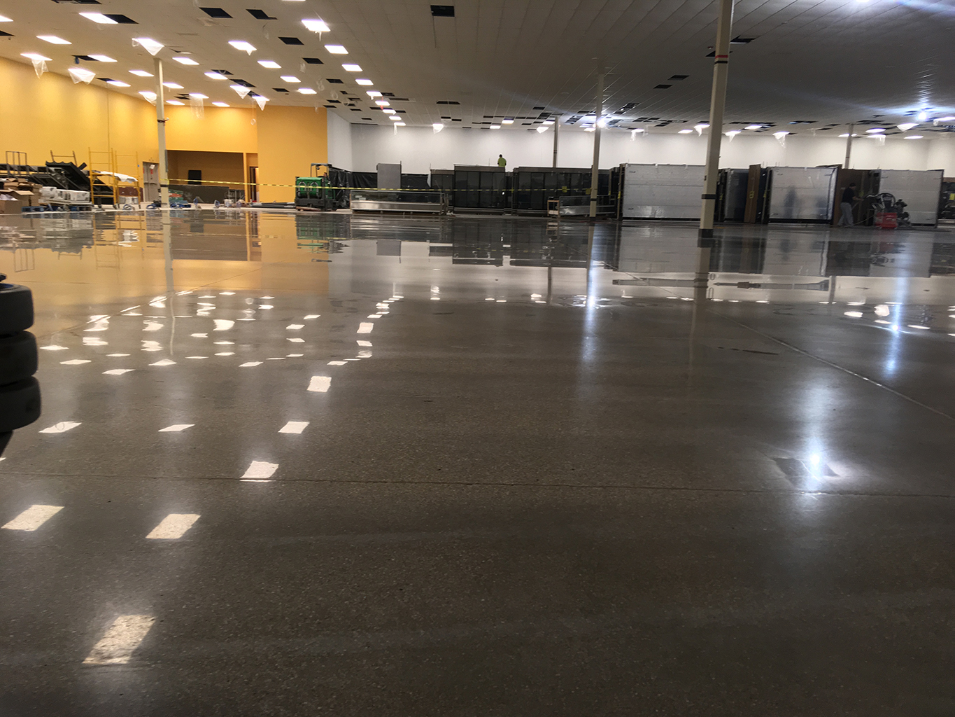 Polished Commercial Floor